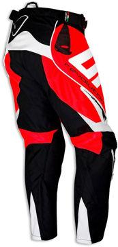 Resim Ufo Revolution Motosiklet Pantolonu Kırmızı Siyah