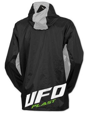 Resim Ufo Storm Motosiklet Yağmurluk Siyah Gri