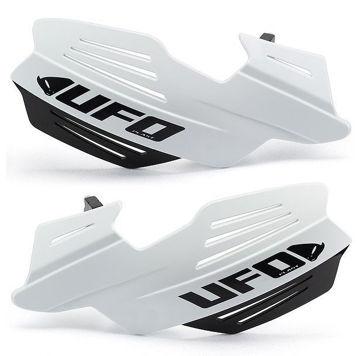 Resim Ufo Vulcan Motosiklet Elcik Koruması Beyaz