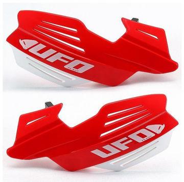 Resim Ufo Vulcan Motosiklet Elcik Koruması Kırmızı