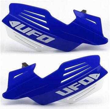 Resim Ufo Vulcan Motosiklet Elcik Koruması Mavi