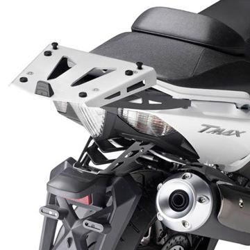 Resim Givi SRA2013 Yamaha T-MAX 500 (08-11) - T-MAX 530 (12-15) Motosiklet Arka Çanta Taşıyıcı
