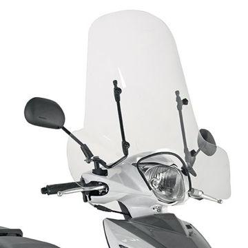 Resim Kappa 107A Motosiklet Universal Rüzgar Siperlik
