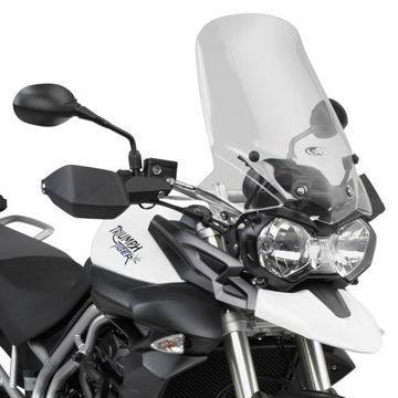 Resim Kappa D6401KIT Triumph Tiger800 - Tiger800XC (11-15) Motosiklet Rüzgar Siperlik Bağlantısı