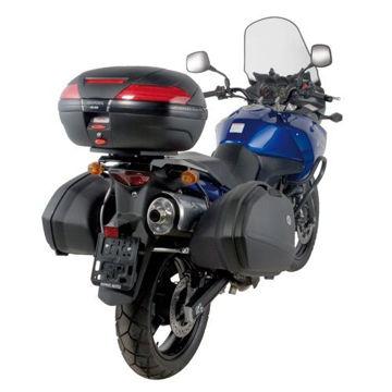 Resim Kappa K528 Suzuki DL 650-1000 V-Strom (02-11) - Kawasakı KLV 1000 (04-10) Motosiklet Arka Çanta Taşıyıcı