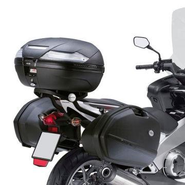 Resim Kappa KLX1109 Honda Integra 700 (12-13) Motosiklet Yan Çanta Taşıyıcı