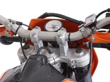 Resim SW-Motech KTM SC 2000 / EXC. 30 mm. Gidon Yükseltici Gümüş