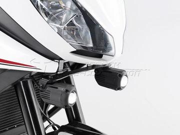 Resim SW-Motech Triumph Tiger 1050 Sport (13-) Sis Farı Bağlantı Aparatı