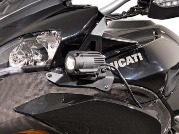 Resim SW-Motech Ducati Multistrada 1200 (10-) Sis Farı Bağlantı Aparatı