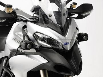 Resim SW-Motech Ducati Multistrada 1200 / S (10-14) Sis Farı Bağlantı Aparatı