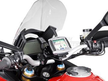 Resim SW-Motech Ducati Multistrada 1200/S (10-14) GPS Montaj Kiti