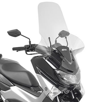 Resim Givi 2123DT Yamaha N-MAX 125 (15) Motosiklet Rüzgar Siperlik