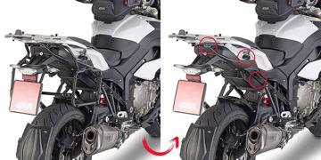 Resim Givi PLR5119 BMW S1000XR (15) Motosiklet Yan Çanta Taşıyıcı