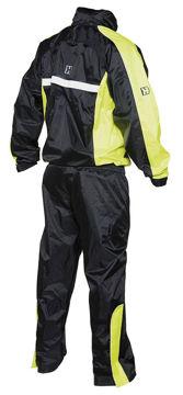 Resim Hevik HRS103 Motosiklet Yağmurluk Takım Siyah Sarı
