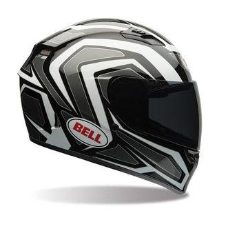 Resim Bell PS Qualifier Machine Beyaz Siyah Kapalı Motosiklet Kaskı