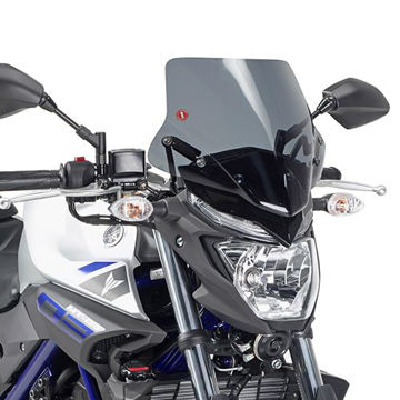 Resim Givi A2127 Yamaha MT-25 (15-16) Rüzgar Siperlik