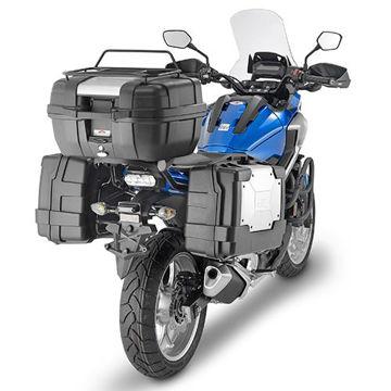 Resim Kappa KL1146 Honda NC750X (16) Yan Çanta Taşıyıcı