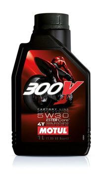 Resim Motul 300V MotoGP Serisi 5W30 4 Litre Ful Sentetik Motosiklet Motor Yağı