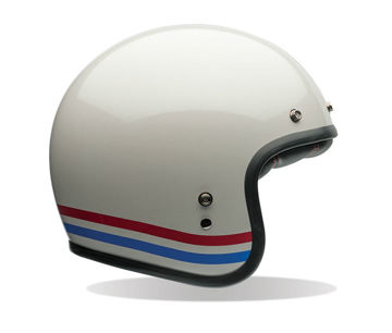 Resim Bell Ps Custom 500 Stripes Açık Motosiklet Kaskı