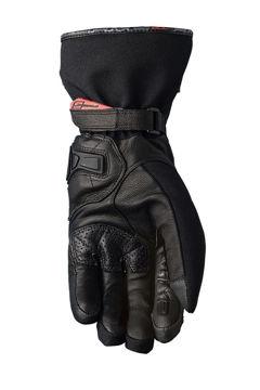 Resim Five Gloves WFX City Long Su Geçirmez Siyah Motosiklet Eldiveni