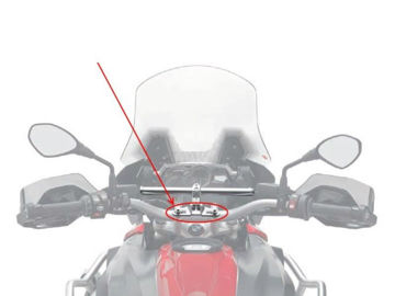 Resim Givi 06SKIT Montaj Bağlantı Kiti Smart Bar Yamaha MT07 Tracer (16)