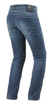 Resim Revit Corona Kot Motosiklet Pantolonu Mavi