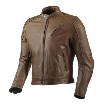 Resim Revit Redhook Deri Motosiklet Montu Kahverengi