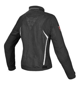 Resim Dainese Hydra Flux D-Dry Kadın Motosiklet Ceketi Siyah