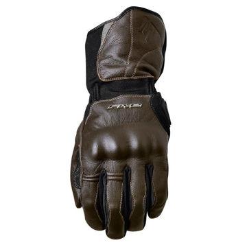 Resim Five Gloves WFX Skin WP Kahverengi Deri Eldiven