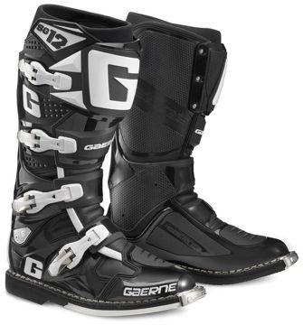 Resim Gaerne SG12 Kros Çizme Siyah