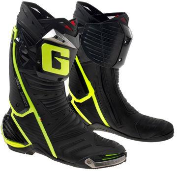 Resim Gaerne GP1 Ready To Race Çizme Siyah Sarı