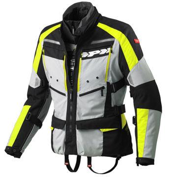 Resim Spidi 4 Season H2OUT Motosiklet Montu Sarı Gri