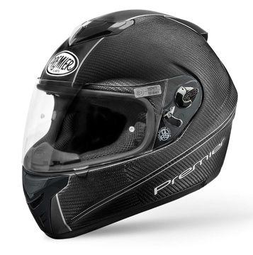Resim Premier Dragon Evo Kapalı Motosiklet Kaskı Karbon Beyaz