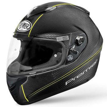 Resim Premier Dragon Evo Kapalı Motosiklet Kaskı Karbon Sarı