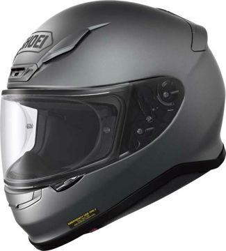 Resim Shoei NXR Kapalı Motosiklet Kaskı Mat Gri