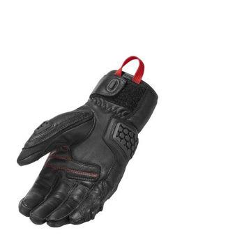 Resim Revit Sand 3 Motosiklet Eldiveni Siyah Kırmızı