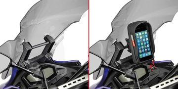 Resim Givi FB2130 Yamaha MT-07 Tracer 16 Cam Arkası Tutucu Aparat