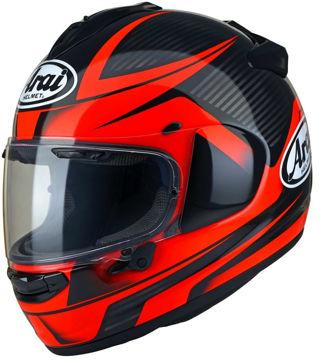 Resim Arai Chaser-X Tough Kırmızı Kapalı Motosiklet Kaskı