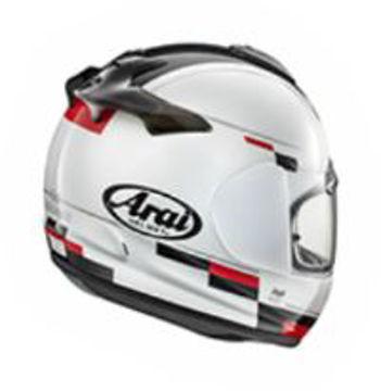 Resim Arai Axces 3 Blaze Beyaz Kapalı Motosiklet Kaskı