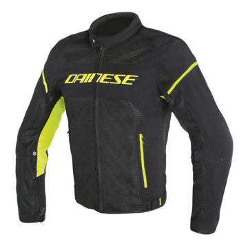 Resim Dainese Air Frame D1 Tekstil Yazlık Motosiklet Ceketi Siyah Sarı