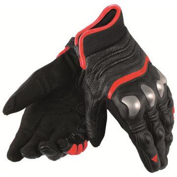 Resim Dainese X-Strike Motosiklet Eldiveni Siyah Kırmızı