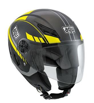 Resim AGV Blade Yarım Motosiklet Kaskı Sarı Siyah