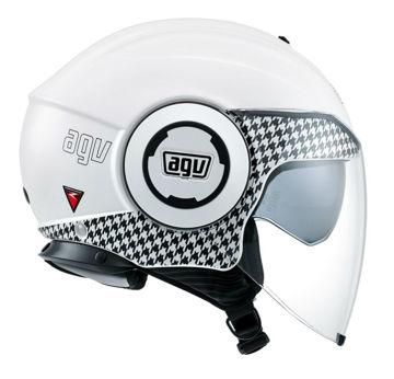 Resim AGV Fluid Dresscode Motosiklet Kaskı Beyaz