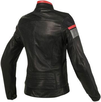 Resim Dainese Blackjack Kadın Deri Motosiklet Ceketi