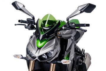 Resim Puig Kawasaki Z1000 Ön Cam Yeşil