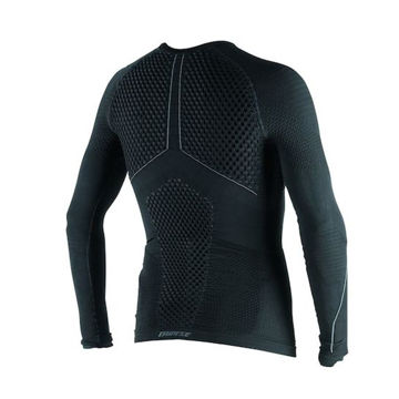 Dainese D-Core Thermo Tee LS Termal Motosiklet İçliği Siyah