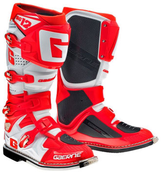 Resim Gaerne SG12 Kros Motosiklet Çizmesi Kırmızı