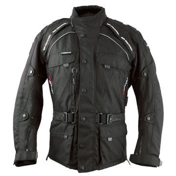 Resim Roleff Liverpool Motosiklet Ceketi Siyah