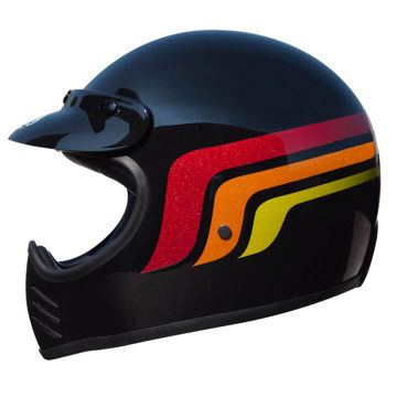 Resim Premier MX LC9 Kapalı Motosiklet Kaskı Siyah