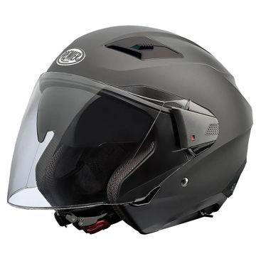 Resim Premier Bliss Açık Motosiklet Kaskı Mat Siyah